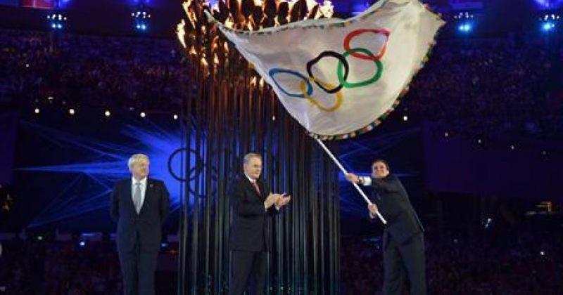 ოლიმპიური დროშა რიოშია