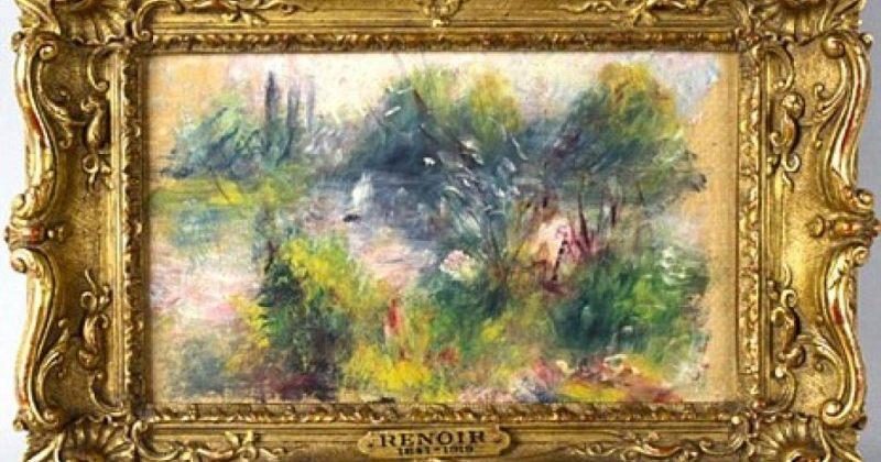 ამერიკელმა ქალბატონმა რენუარის ნახატი 7 დოლარად იყიდა