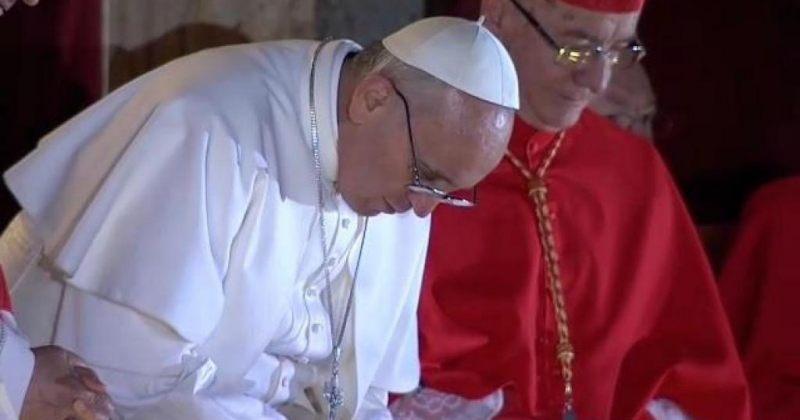 ივანიშვილი რომის პაპ ფრანცისკეს არჩევას ულოცავს