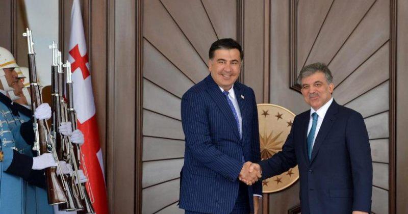 მიხეილ სააკაშვილი თურქეთის პრეზიდენტს შეხვდა