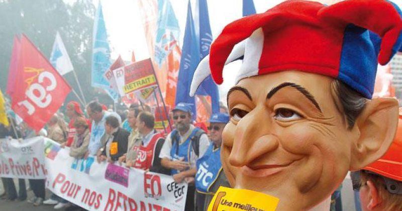საფრანგეთის საპენსიო  სისტემა გაკოტრების ზღვარზე