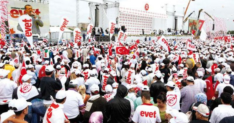 თურქეთის არჩევანი:  Evet თუ Hayir?