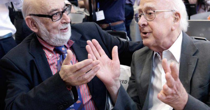პიტერ ჰიგსი და ფრანსუა ანგლერი ნობელის პრემიის მფლობელები გახდნენ