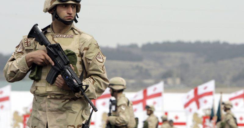 ISAF-ის მისიაში მონაწილე ქართველი სამხედროები პრეზიდენტს დღეს აირჩევენ