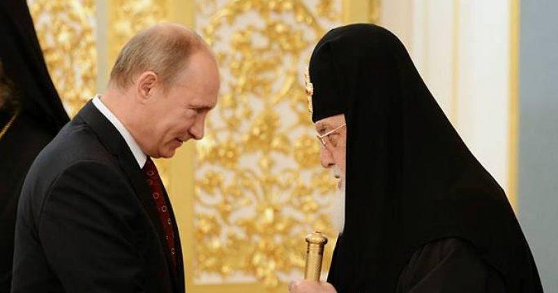 ილია მეორე: ეკლესია იქცა რუსეთის სახელმწიფოებრიობის ღერძად