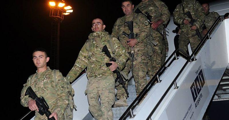 დღეს ავღანეთიდან 155 სამხედრო მოსამსახურე დაბრუნდა