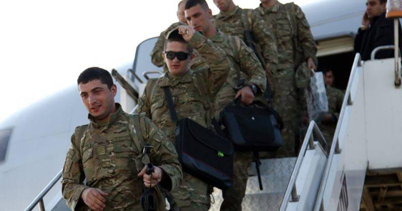 ISAF-ის მისიიდან 105 სამხედრო მოსამსახურე დაბრუნდა
