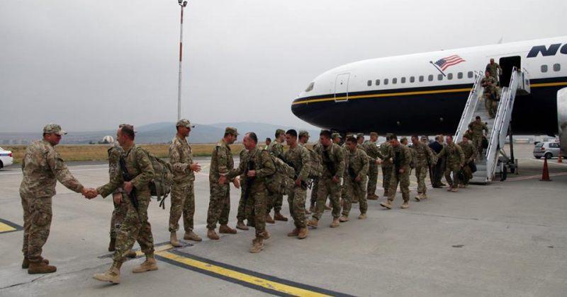 132 ქართველი სამხედრო ავღანეთიდან საქართველოში დაბრუნდა