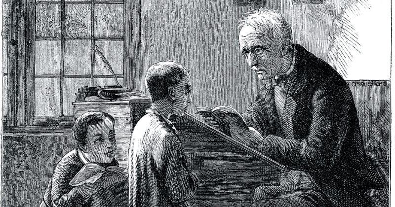 მასწავლებლის პროფესიის  დაბადება