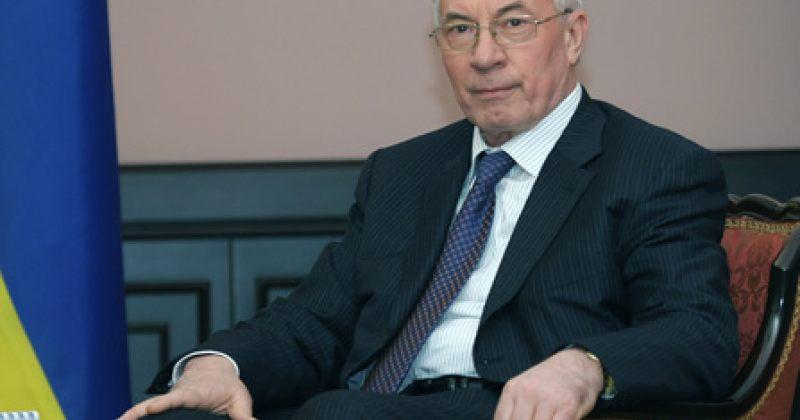 აზაროვი: უკრაინას ევროპასთან ინტეგრაცია  სურს