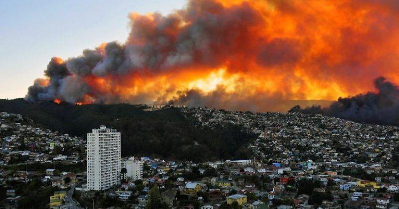 ჩილეში ძლიერი ხანძრის შედეგად 16 ადამიანი დაიღუპა