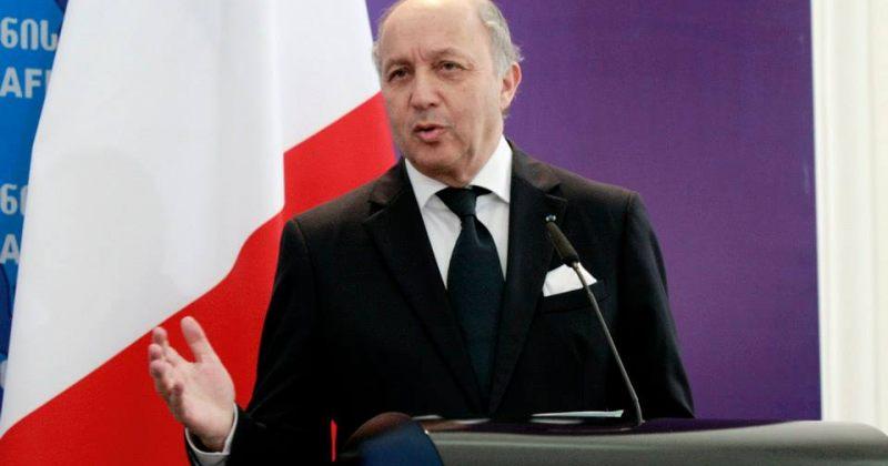 ფაბიუსი: MISTRAL-ის რუსეთისთვის გადასაცემად პირობები არ არსებობს