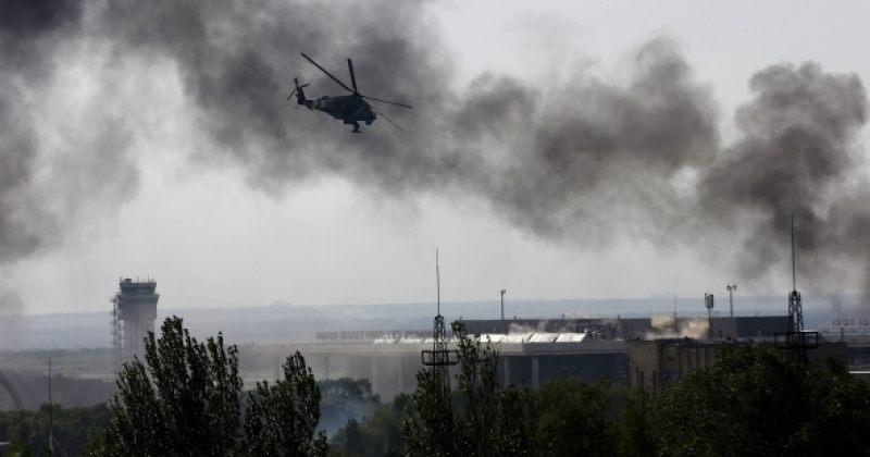 Unian: ტერორისტების მიერ დონეცკის დაბომბვის შედეგად სამი ადამიანი დაიღუპა