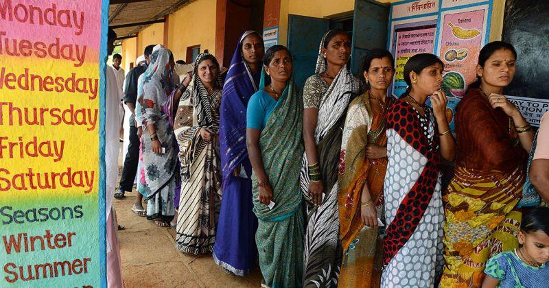 დემოკრატიის გამოცდა ინდურად
