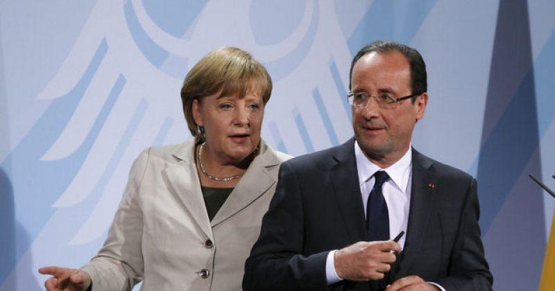 მერკელი საფრანგეთს სთავაზობს, რუსეთისთვის მისტრალების მიყიდვა შეაჩეროს