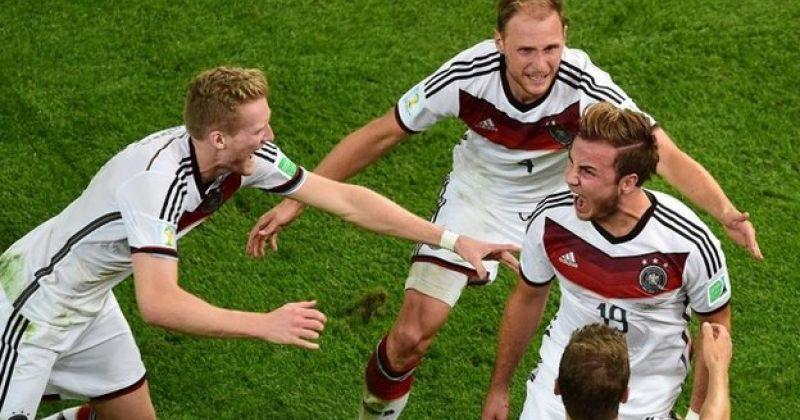 გერმანიის ნაკრები ფეხბურთში მსოფლიო ჩემპიონი გახდა