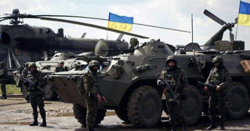 უკრაინულმა არმიამ ლუგანსკის ნაწილი გაათავისუფლა