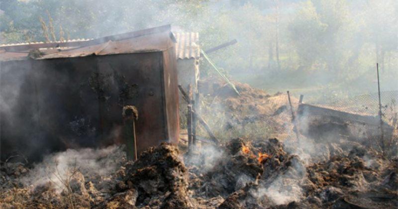 რუსებმა გრადის ტიპის ზალპური დანადგარებით უკრაინული სოფელი გაანადგურეს