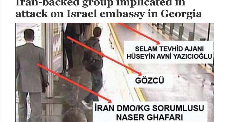 todayszaman: ირანის მიერ მხარდაჭერილი ორგანიზაცია თბილისში ტერაქტს აწყობდა