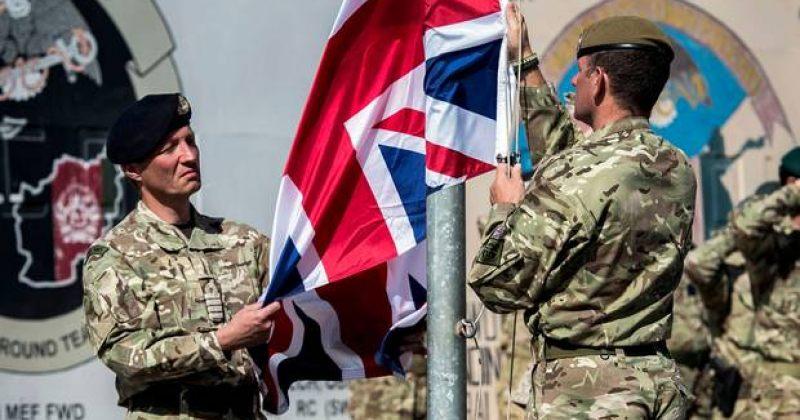 ავღანეთის ჰელმანდის პროვინციაში ამერიკული და ბრიტანული დროშები დაეშვა