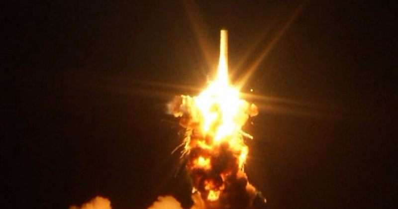 NASA-ს რაკეტა გაშვებისთანავე აფეთქდა