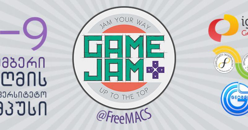 8-9 ნოემბერს GAME JAM გაიმართება