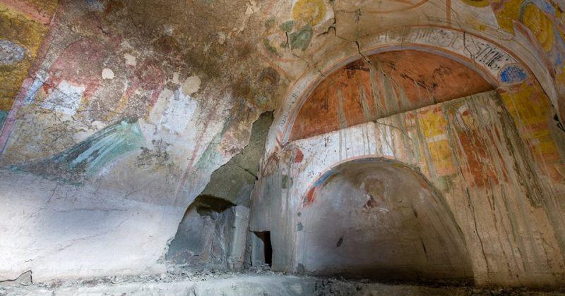 დავით გარეჯში აქამდე უცნობი, მე-13 საუკუნეში მოხატული ეკლესია აღმოაჩინეს