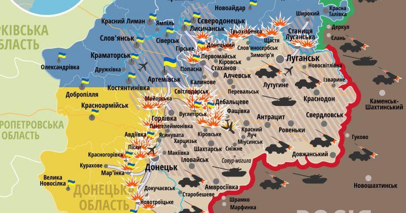 უკრაინაში საბრძოლო მოქმედებების ქრონიკა, 28 იანვარი