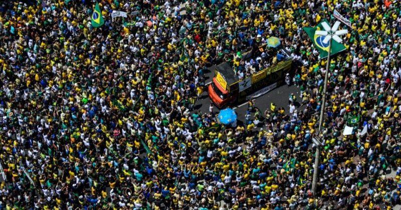 ბრაზილიაში დემონსტრანტები ხელისუფლებას კორუფციაში ადანაშაულებენ