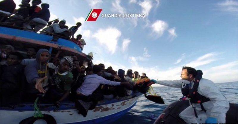 ხმელთაშუა ზღვაში გემის ჩაძირვის შედეგად 400-მდე არალეგალი მიგრანტი დაიღუპა