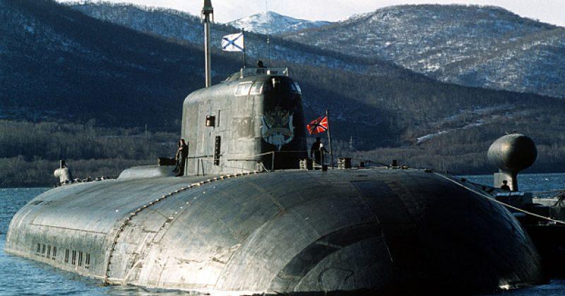 რუსულ ბირთვულ წყალქვეშა ნავზე ხანძარი გაჩნდა