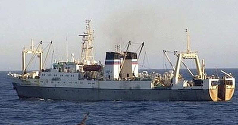 გემის ჩაძირვას ოხოტის ზღვაში 50-ზე მეტი მეზღვაური ემსხვერპლა