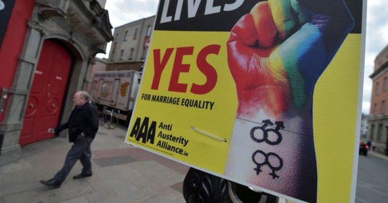 ირლანდიელთა 62 პროცენტმა ერთნაირსქესიანთა ქორწინებებს დაუჭირა მხარი