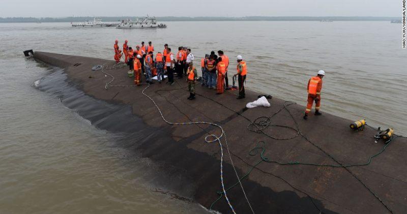 მდინარე იანძიში სამგზავრო გემის ჩაძირვის შედეგად დაკარგულებს ამ დრომდე ეძებენ