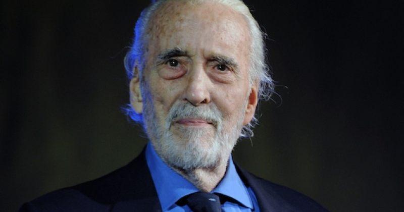 93 წლის ასაკში მსახიობი სერ კრისტოფერ ლი გარდაიცვალა