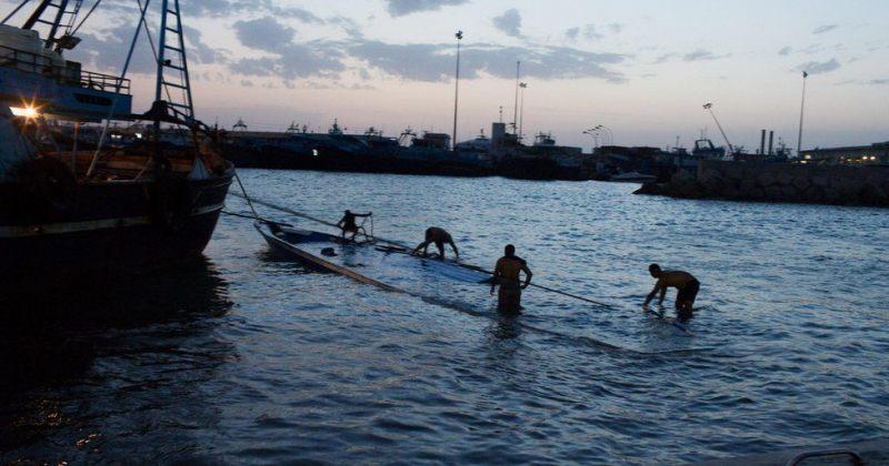 ლიბიის სანაპიროთან ჩაძირულ ორ ნავში 500-მდე მიგრანტი იმყოფებოდა