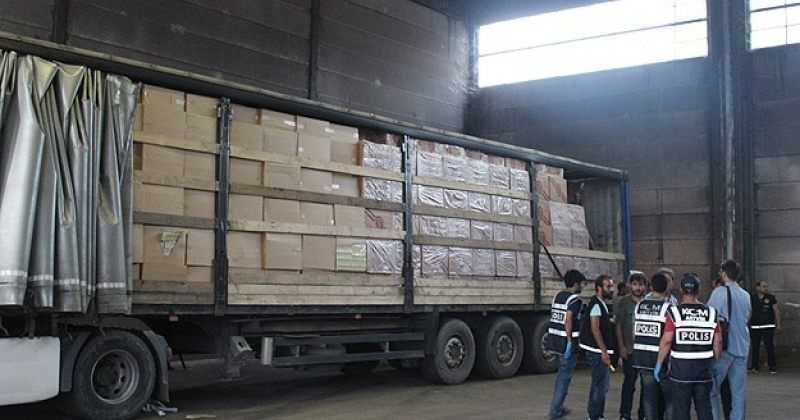 თურქეთმა საქართველოდან შეტანილი $7.9 მილიონის კონტრაბანდული სიგარეტი ამოიღო