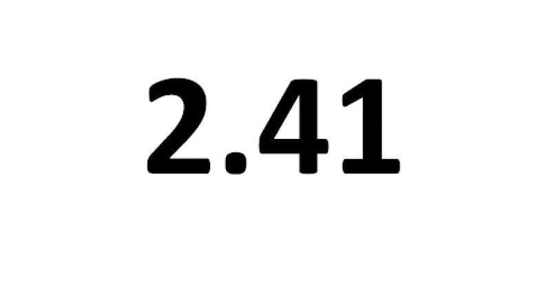 ერთი აშშ დოლარის ღირებულება 2015 წლის მაქსიმუმი -  2.41 ლარი გახდა