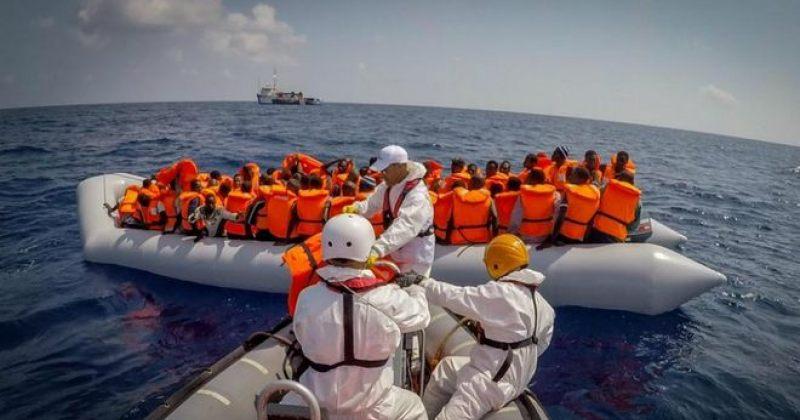 ლიბიის სანაპიროებთან ახლოს ევროპისკენ მიმავალი მიგრანტების ნავი გადაბრუნდა