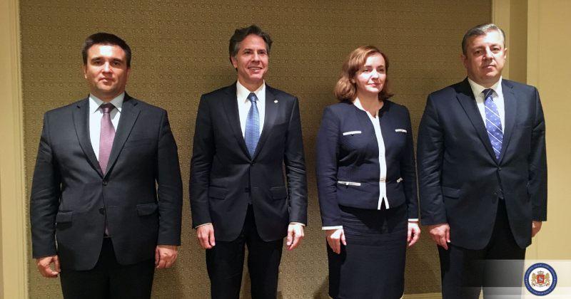 საქართველოს საგარეო საქმეთა მინისტრი აშშს წარმომადგენლებს შეხვდა