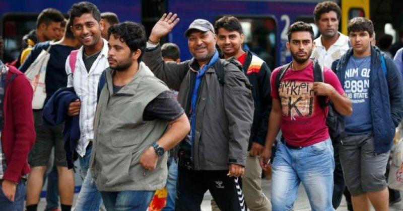 მიგრანტების პირველი ნაკადი მიუნხენში ჩავიდა