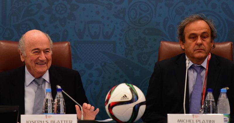FIFA-მ ზეფ ბლატერს და მიშელ პლატინის უფლებამოსილებები 90 დღით შეუჩერა