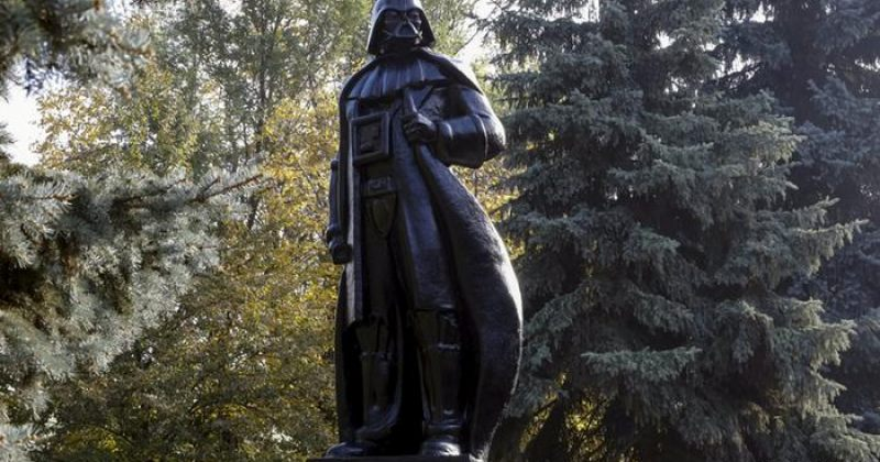 ოდესაში ლენინის ძეგლი დართ ვეიდერის ძეგლად გადააკეთეს