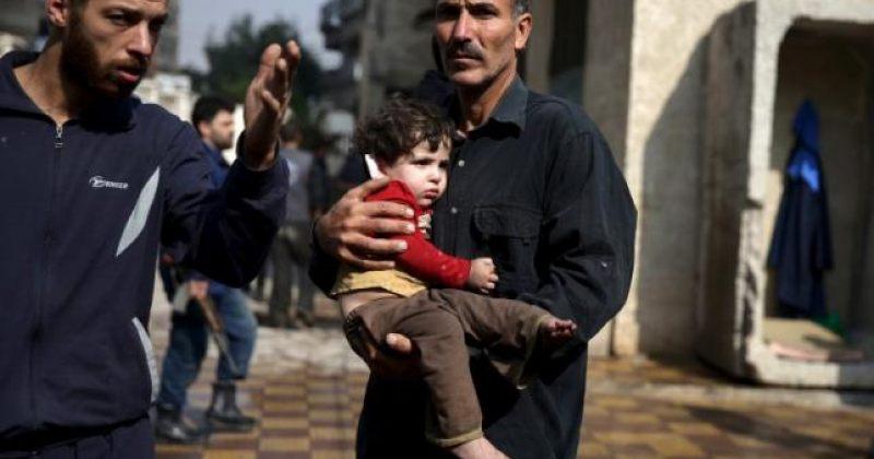 სირიის ქალაქ დუმაზე სარაკეტო შეტევის შედეგად 40 ადამიანი დაიღუპა