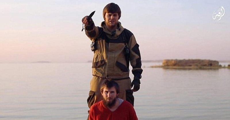 """ISIS-მა """"რუსი ჯაშუშის"""" სიკვდილით დასჯის ვიდეოჩანაწერი გაავრცელა"""