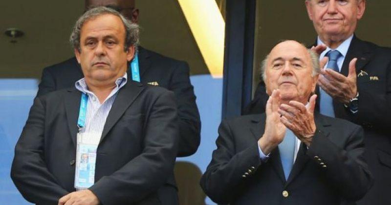 FIFA: ბლატერი და პლატინი ფეხბურთს 8 წლით ჩამოშორდებიან