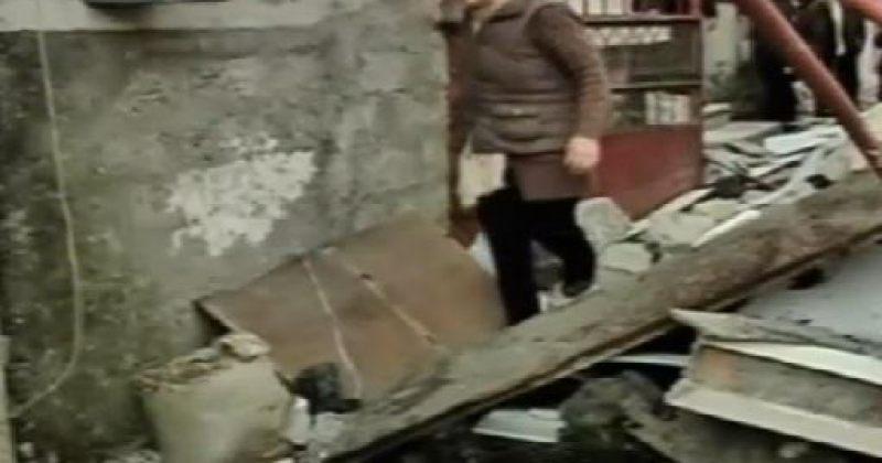 აფეთქების შედეგად ბათუმში ბარაკის ტიპის სახლები დაზიანდა