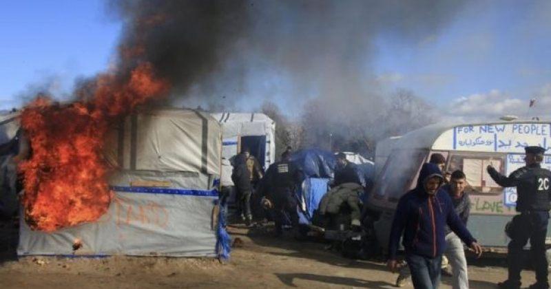საფრანგეთში მიგრანტებსა და სამართალდამცავებს შორის შეტაკებები მოხდა
