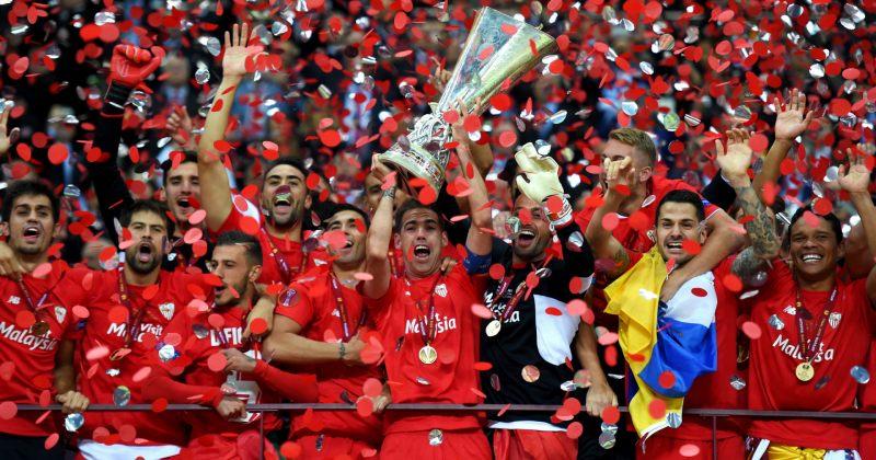 """""""სევილიამ"""" ევროპა ლიგა ზედიზედ მესამედ მოიგო"""