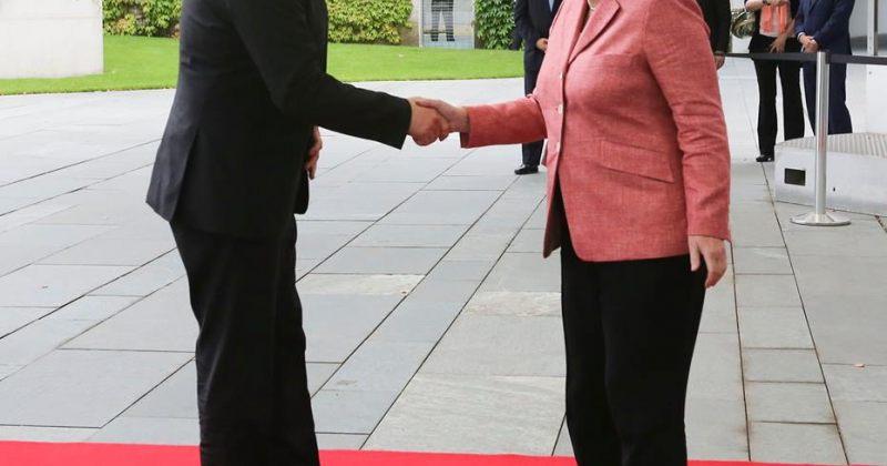 საქართველოს პრეზიდენტი ანგელა მერკელს შეხვდა